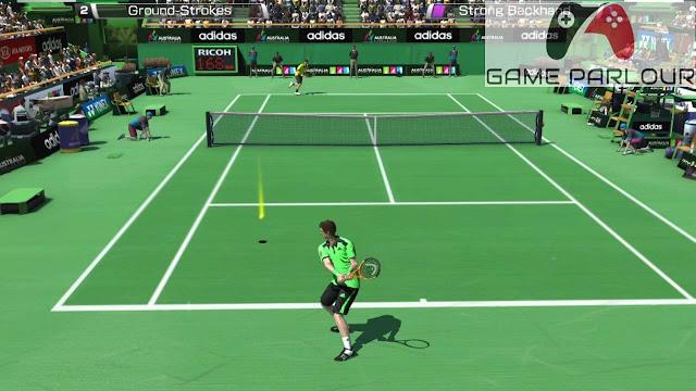 Virtua Tennis 4 Gameplay