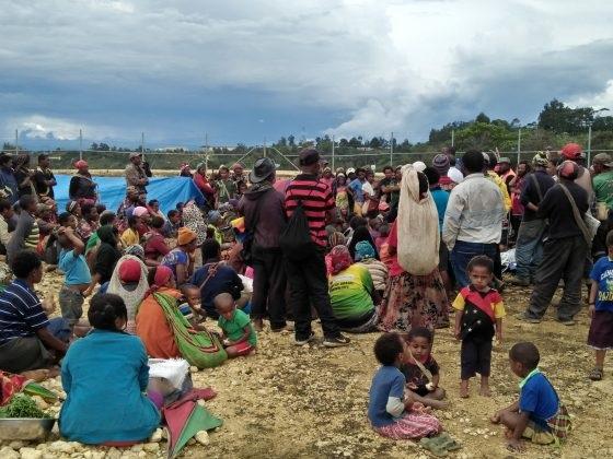 Réplica del terremoto en Papúa Nueva Guinea
