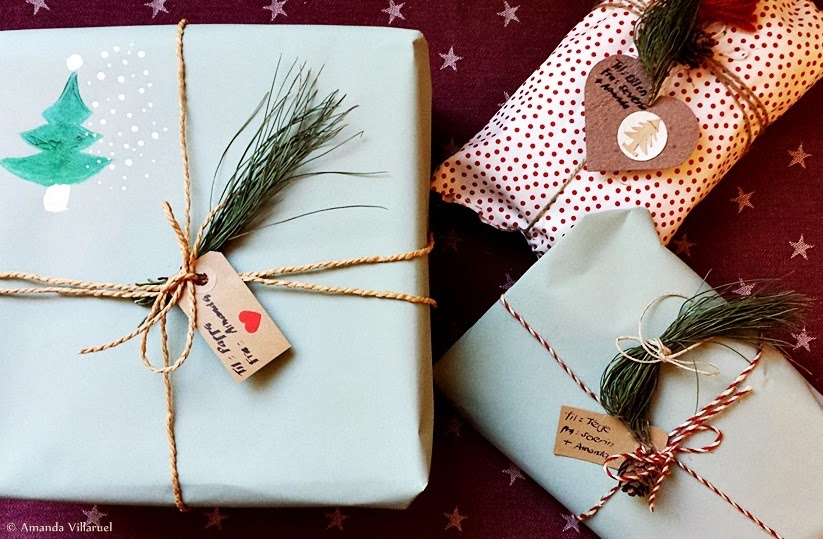 Sustainable and creative gift wrapping ideas with recyclable gift paper and textile