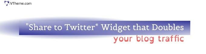 "Simple ""Share to Twitter"" Widget that Helps Double-up your Blog Traffic"
