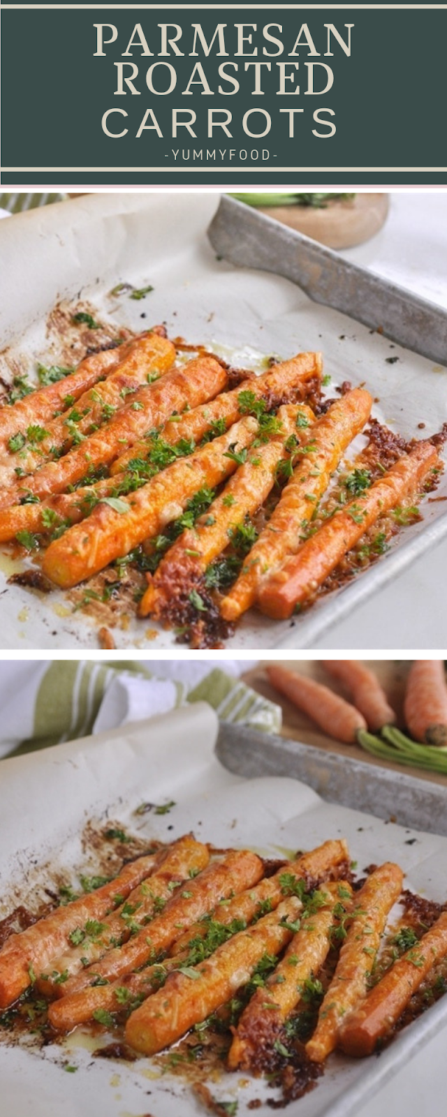 Pаrmеѕаn Rоаѕtеd Carrots
