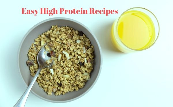 easy high protein recipes