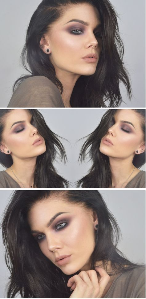 brown smokey eyes makeup