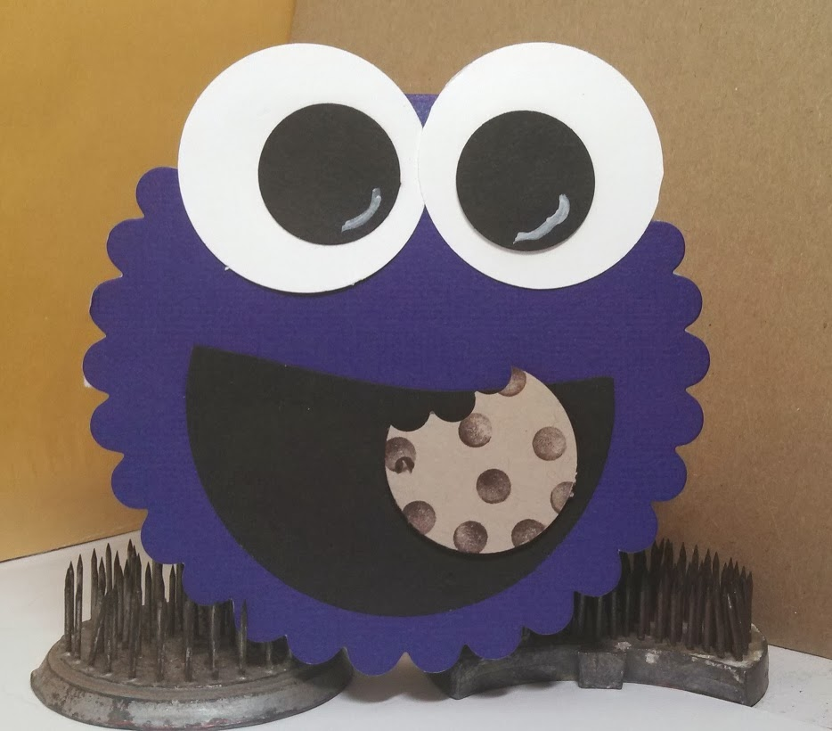 Sharons Inkie Fingers Cookie Monster