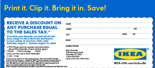 graphic relating to Ikea Printable Coupon identify IKEA Printable Coupon codes September 2015 - Printable Coupon codes 2015