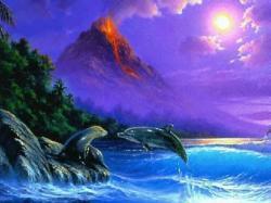 Imagen de fantasia de delfin