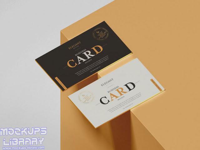 brands business card mockup