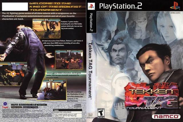 Descargar Tekken - Tag Tournament ps2 iso NTSC-PAL. Lanzado en julio de 1999 para Arcade, es una actualización a Tekken 3 y es la cuarta entrega de la serie popular Tekken. Sin embargo, no sigue la historia lineal de Tekken. El juego estaba originalmente disponible como kit de la actualización para Tekken 3, y portado a PlayStation 2 con los gráficos mejorados y los nuevos modos.