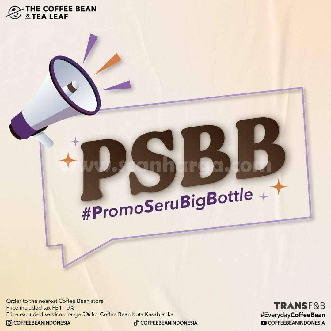 The Coffee Bean Paket PSBB (Promo Seru Big Bottle)
