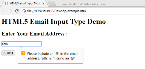 HTML5-email-input-type-in-Hindi