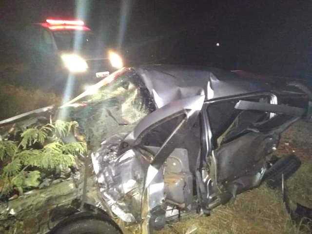 Chapada: Grave acidente e registrado na BR-242, em Boninal