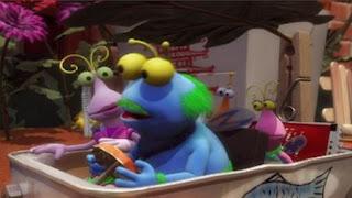 The Twiddlebugs, flat tire, Sesame Street Episode 4415 Rosita's Abuela season 44