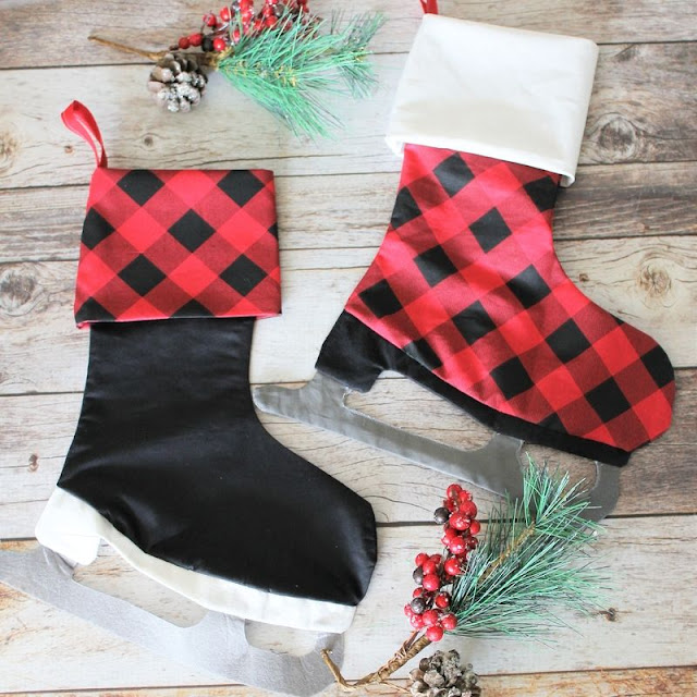 handmade Christmas stockings