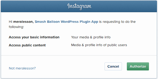 add instagram photo into WordPress