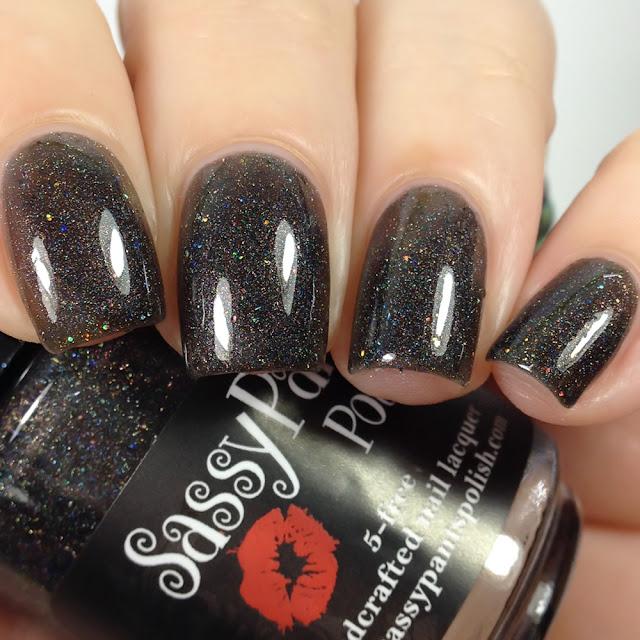 Sassy Pants Polish-Black Magic