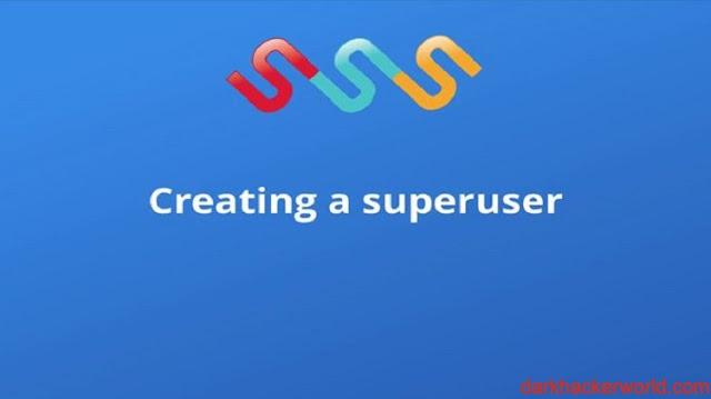 Create superuser