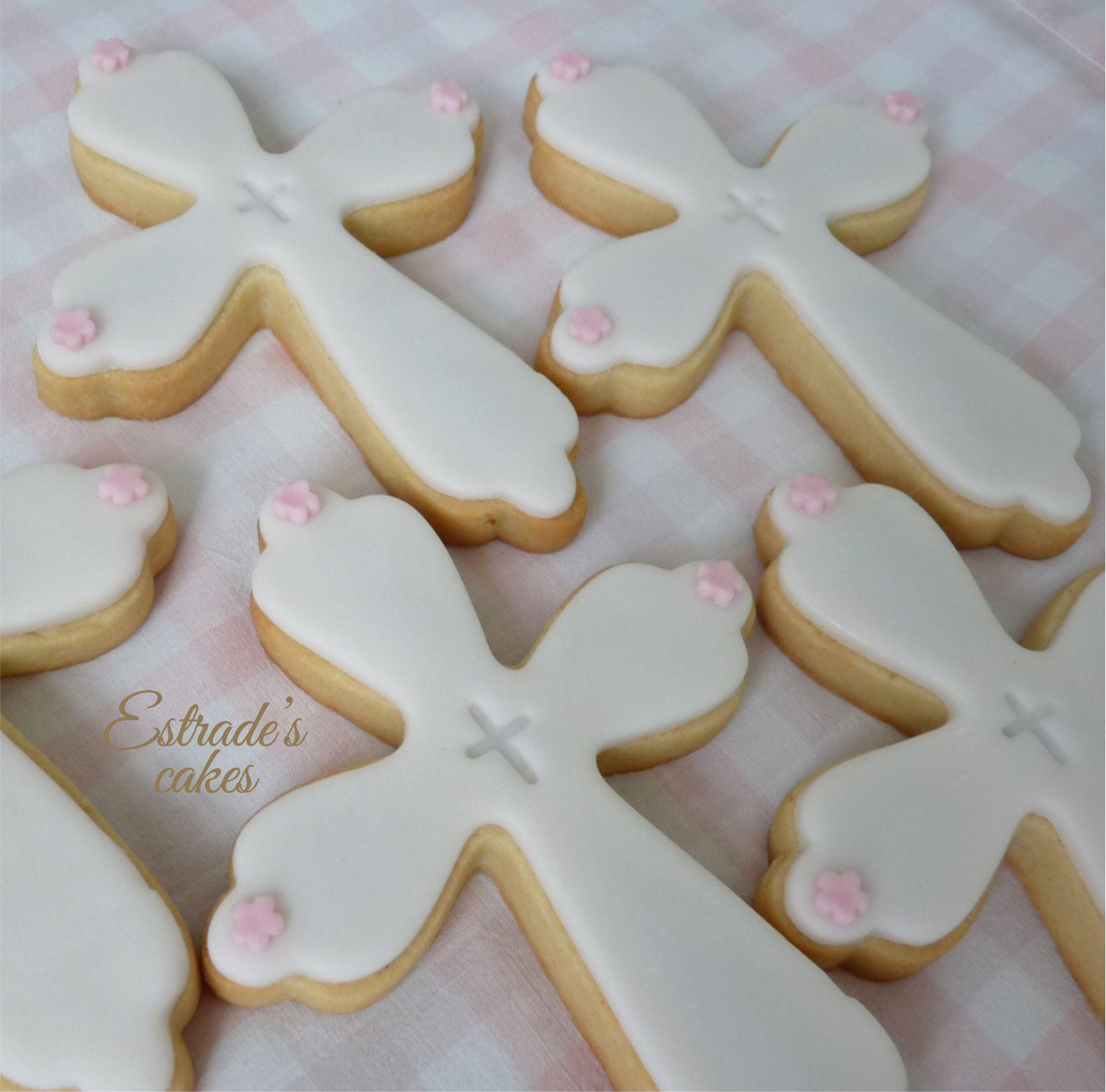 galletas para una primera comunión - cruz 1