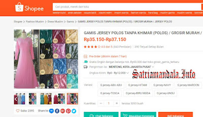 Dress Murah dan Grosir Di Shopee.Co.Id