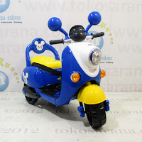 blue remote control battery toy motorcycle pliko