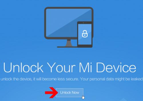 Unlock Authorization Xiaomi