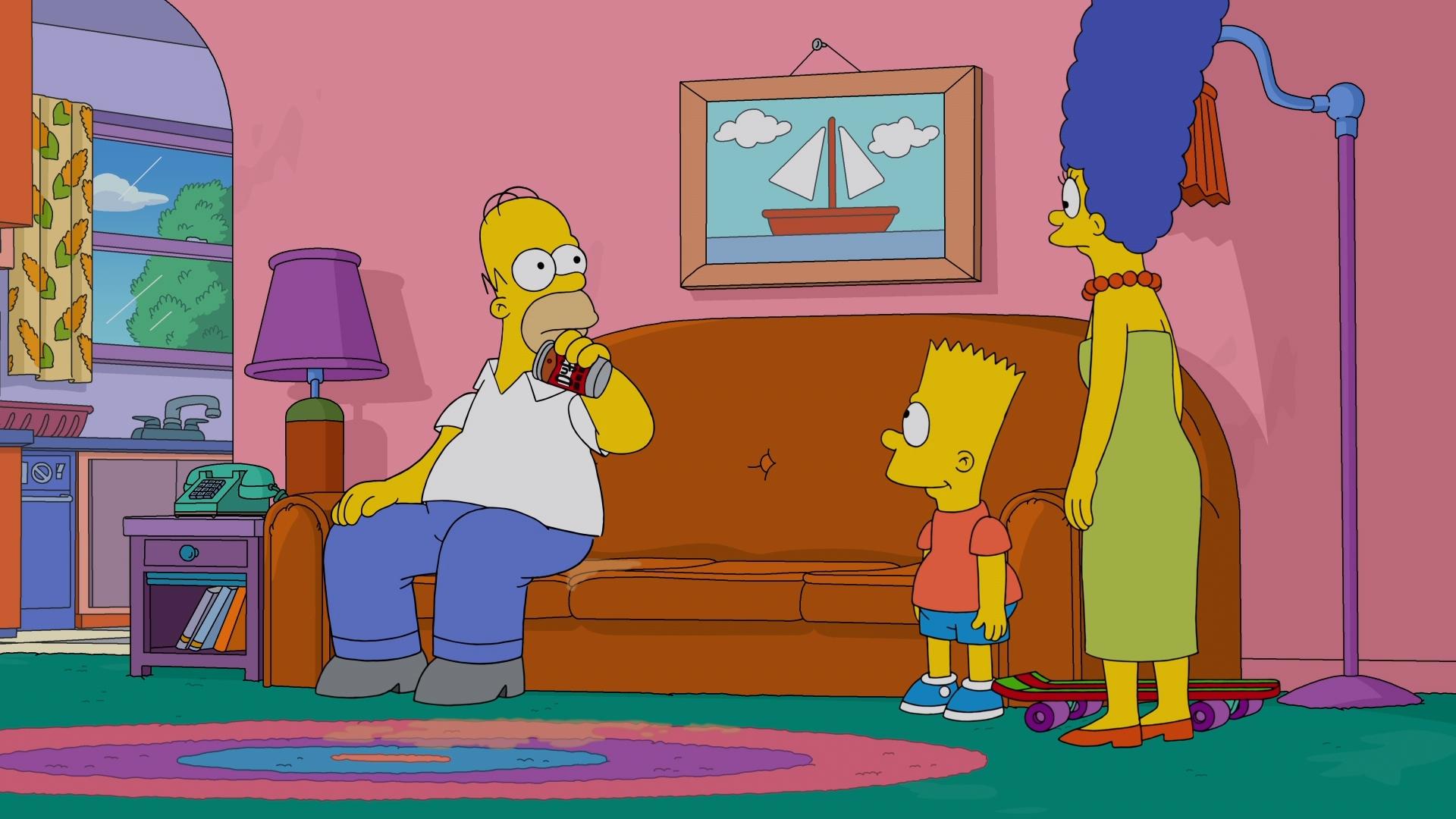 Los Simpsons Temporada 32 (2021) 1080p WEB-DL Latino
