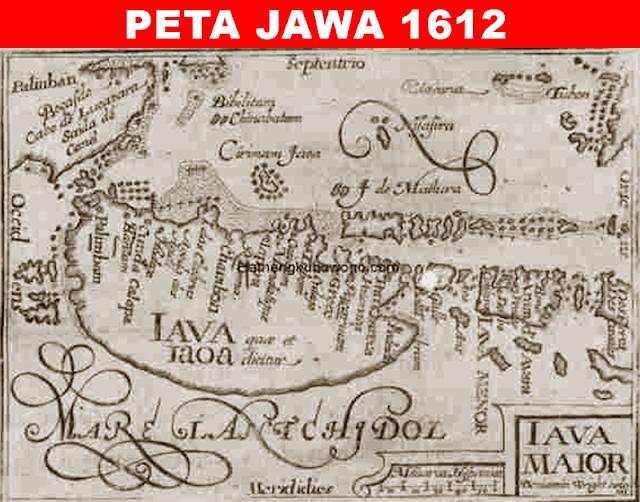 Pulau Jawa merupakan pulau terpadat di Indonesia dari sekian banyak pulau yang termasuk w 9 Peta Jawa Kuno dari Tahun 1598-1840