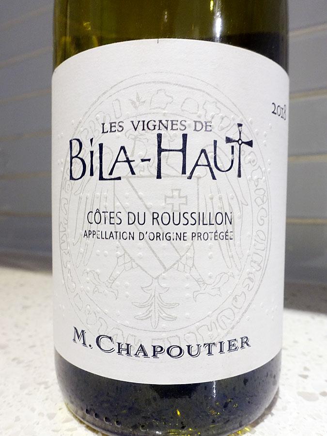 Les Vignes de Bila-Haut Côtes du Roussillon Blanc 2018 (89 pts)