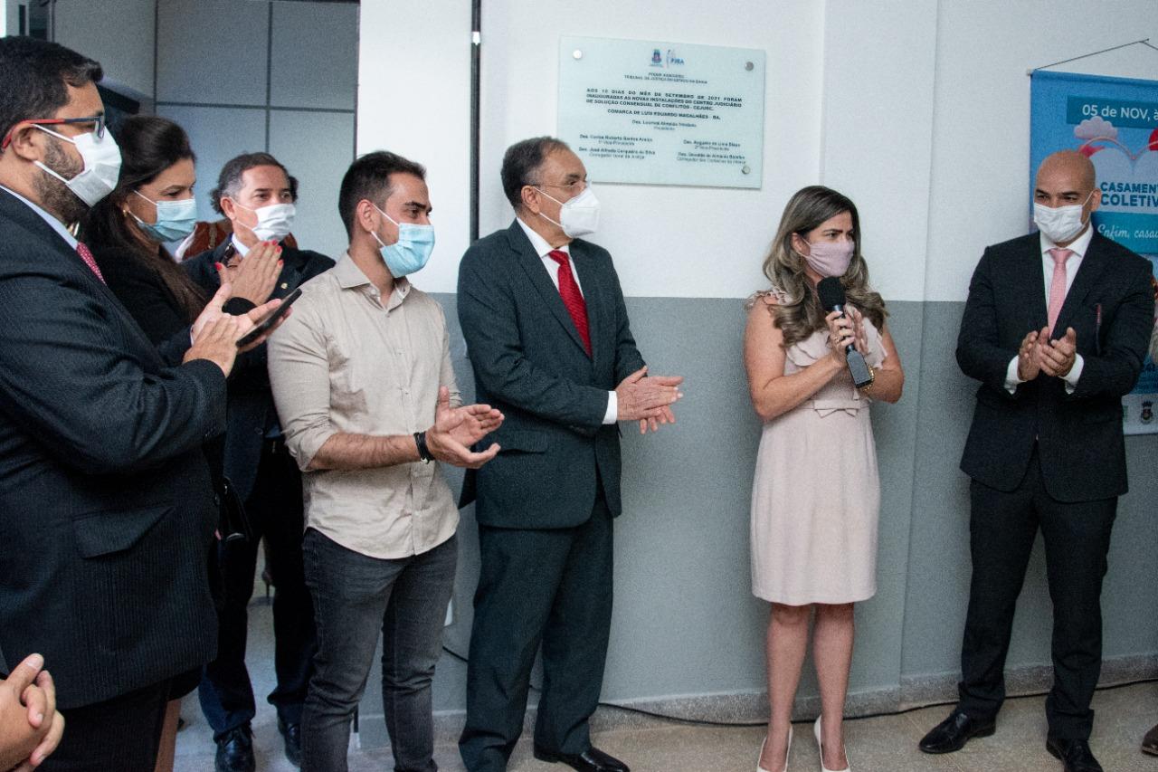 Centro Judiciário de Resolução de Conflitos é reinaugurado em Luís Eduardo Magalhães