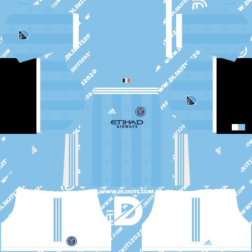 New York City Kits 2021-2022 Adidas -Kit Dream League Soccer 2019 (Home)