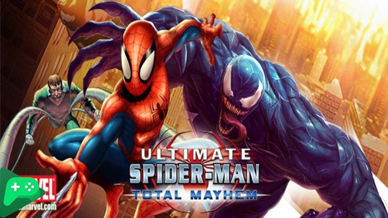 تحميل لعبة Spider-Man Total Mayhem HD للاندرويد مهكرة