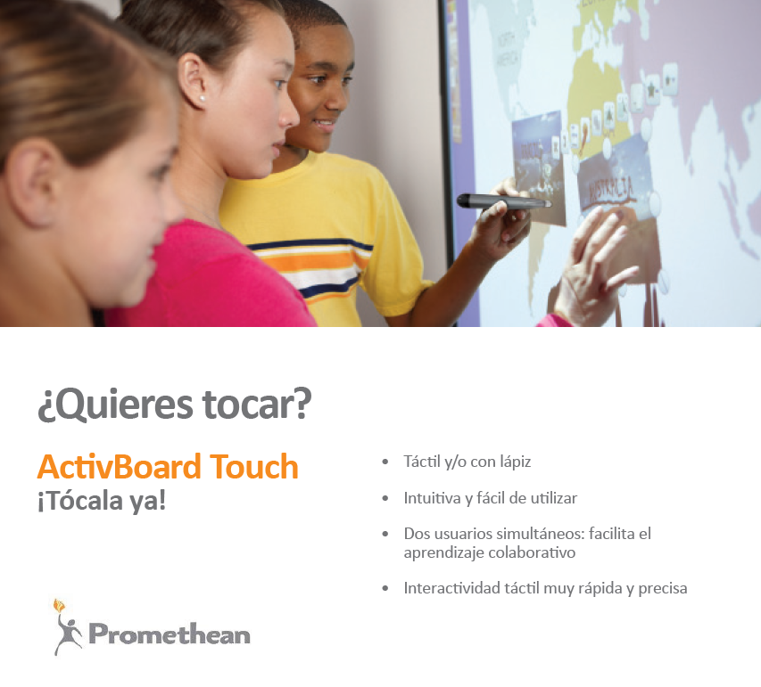 PDI Táctil Promethean Activ Board Touch