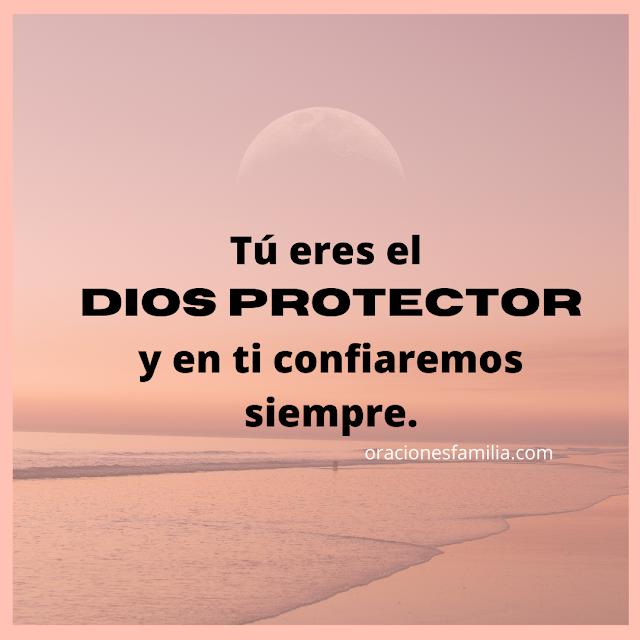 frases oración de proteccion de la noche a Dios