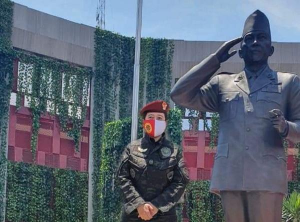 Uni Puan Resmikan Patung: Ingatlah Pengabdian Bung Karno untuk Indonesia