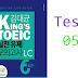 Listening KING'S TOEIC Practice - Test 05