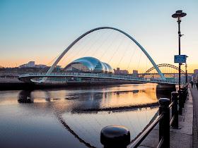 Things to do on Newcastle Quayside- Millennium Bridge