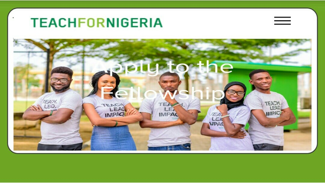 Open: Teach For Nigeria Fellowship 2021 Recruitment [N80,000 monthly Salary]