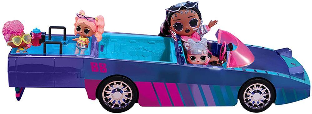 Синий кабриолет Лол Сюрприз танцы с куклой Dancebot