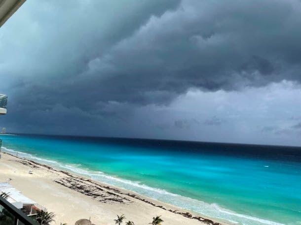 Hurricane Grace hits Mexico