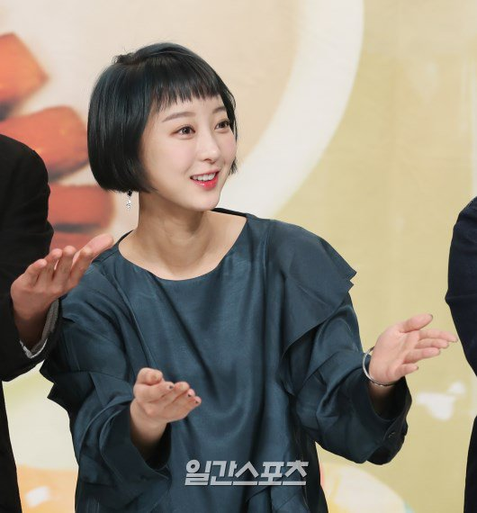 EXID's Hyelin Shows Up With A Super Short Hair Cut At Variety Show Conference