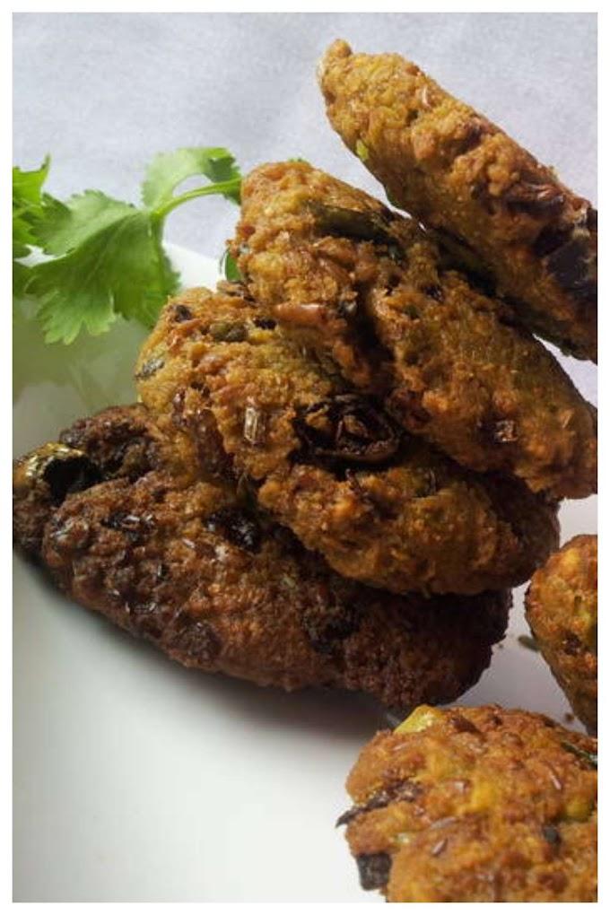 Dried Green Peas Vada Recipe Tamil - பட்டாணி வடை செய்முறை