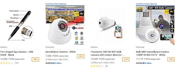 jumia surveillance Camera