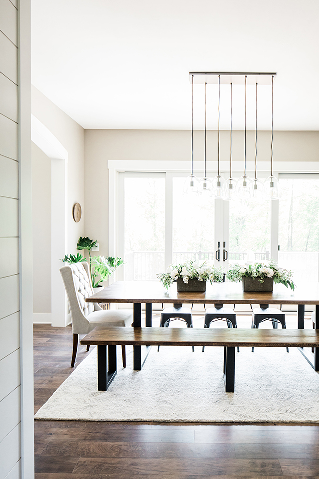 Client Reveal: Modern Farmhouse Dining Room - Michaela ...