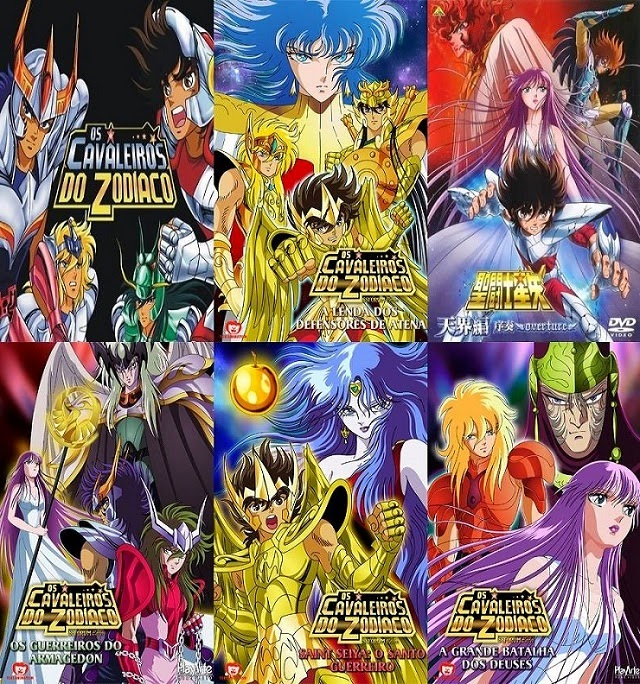 anime cavaleiros do zodiaco todas as sagas dublado