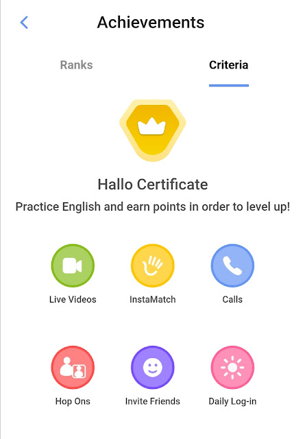 Hallo App- Best English learning app online