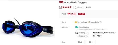 Arena Basic Goggles