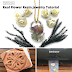 Real Pressed Flower Resin Jewelry Making Using a Microwave Flower Press and Laminator