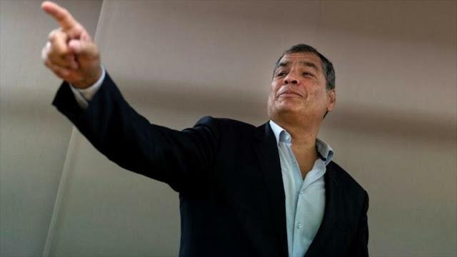Correa: Moreno traicionó a la revolución y nos volvió al pasado