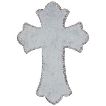 Photo of a galvanized Cross