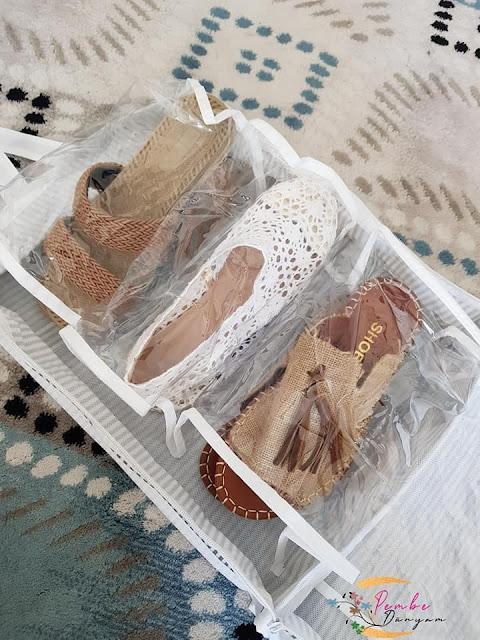 ayakkabı hurcu kullananlar