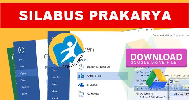 File Silabus Prakarya / Kewirausahaan K13 Revisi Terbaru Semua Jenjang / Kelas